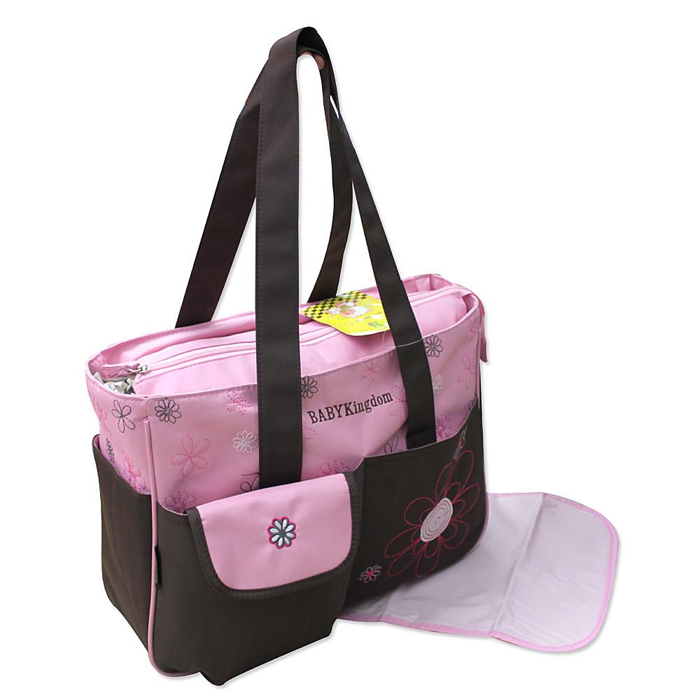 2 tlg Wickeltasche Pflegetasche Windeltasche Babytasche Reise Farbauswahl rosa