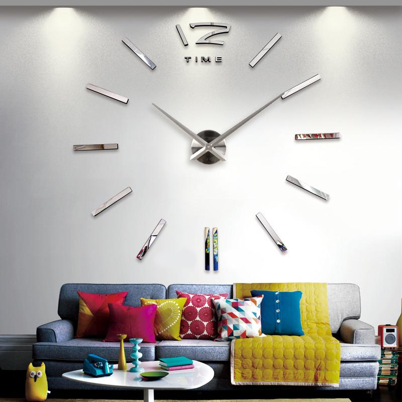 Wanduhr 100 - 130 cm 3 D XXL Uhr Selbst gestaltbare Do-it-yourself Design 6