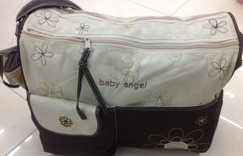Baby Wickeltasche Pflegetasche Windeltasche Babytasche Reise Farbauswahl beige