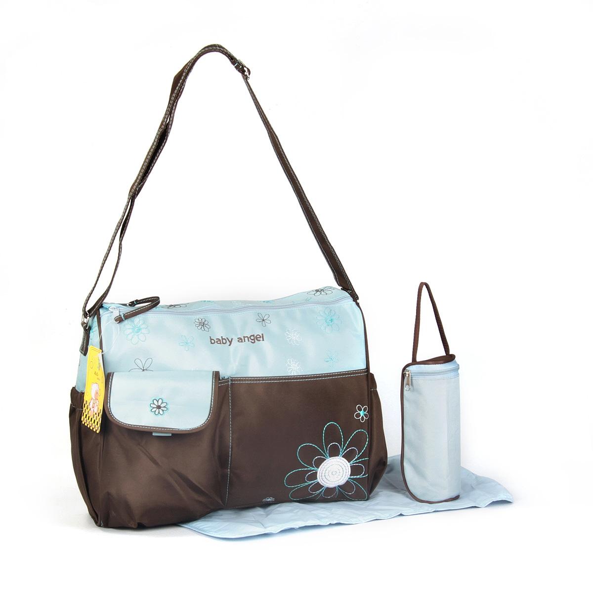 Baby Wickeltasche Pflegetasche Windeltasche Babytasche Reise Farbauswahl blau