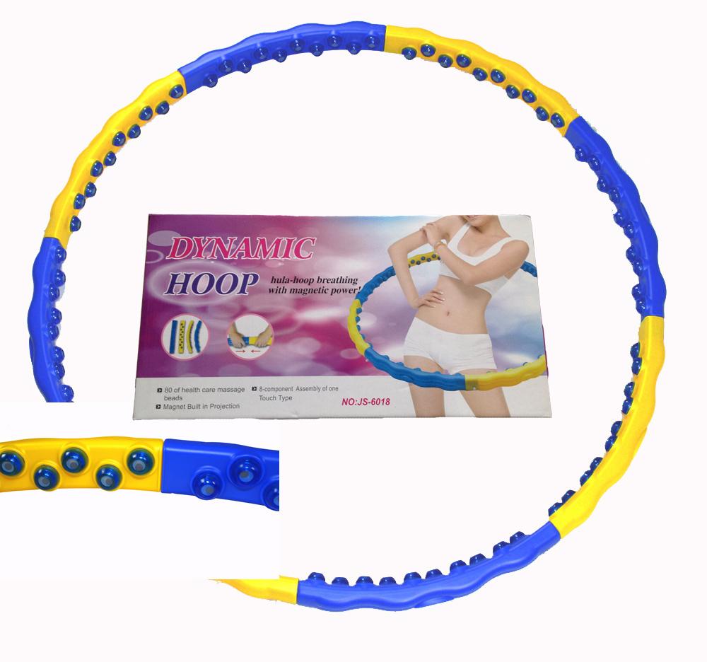 Hula Hoop Massage Reifen Magneten leicht abnemmen Bauchweg 2,1 kg 6018