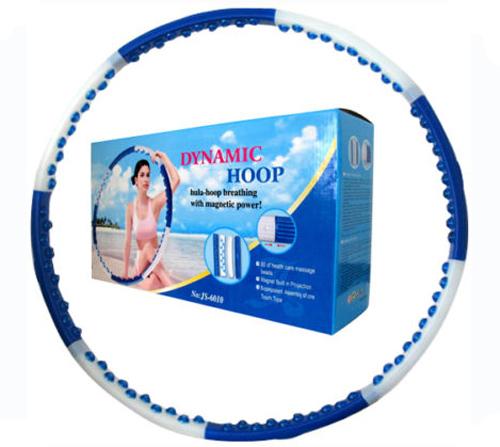 Hula Hoop Massage Reifen 1,8 kg Magneten leicht abnemmen Bauchweg 6010