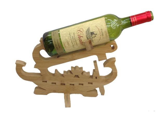Design Schiff  Weinflaschenhalter Weinständer Flaschenständer Holz Weinhalter