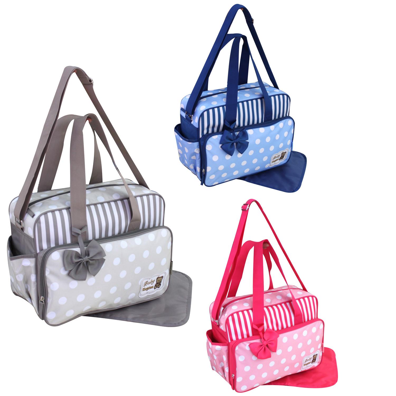 2 tlg Wickeltasche Pflegetasche Windeltasche Babytasche Farbauswahl  2140
